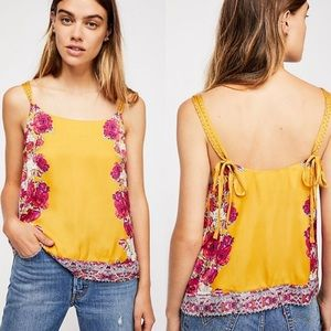 nwt // free people move lightly cami tank